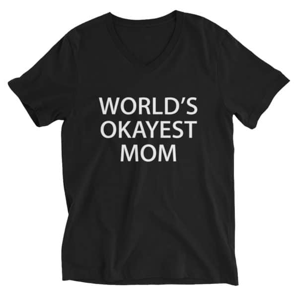 t-shit for the world's okayest mom. Gift for mom