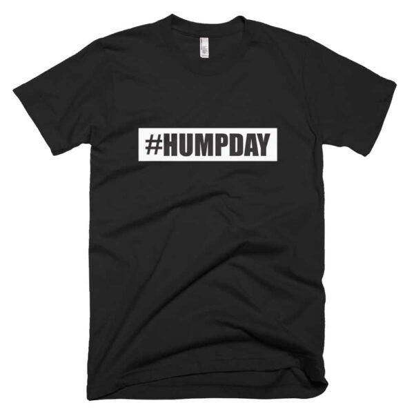 #humpday womens t-shirt - black