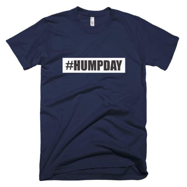 #humpday mens t-shirt - blue