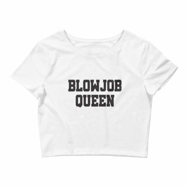 Blowjob queen crop top