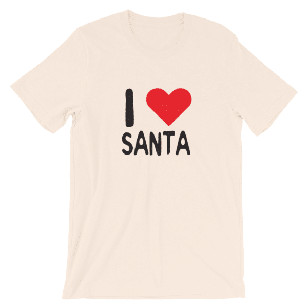 I love santa t-shirt