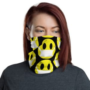 Covid Smiley-face Gaiter