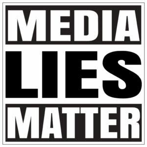 Media Lies Matter T-shirt