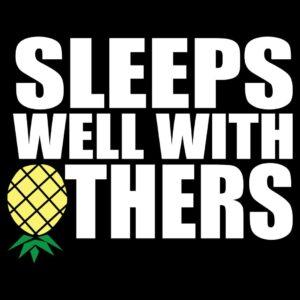sleeps well with others tshirt