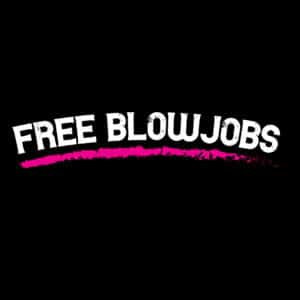 women's free blowjob t-shirt