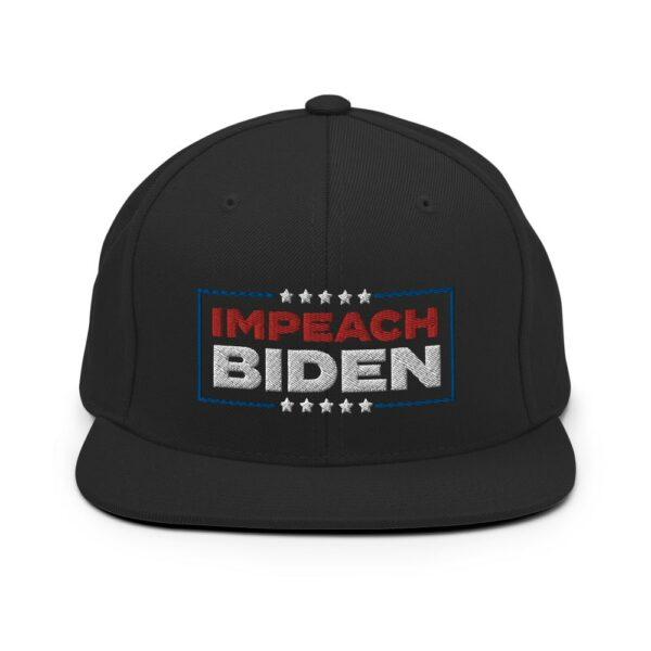 black impeach biden dad hat