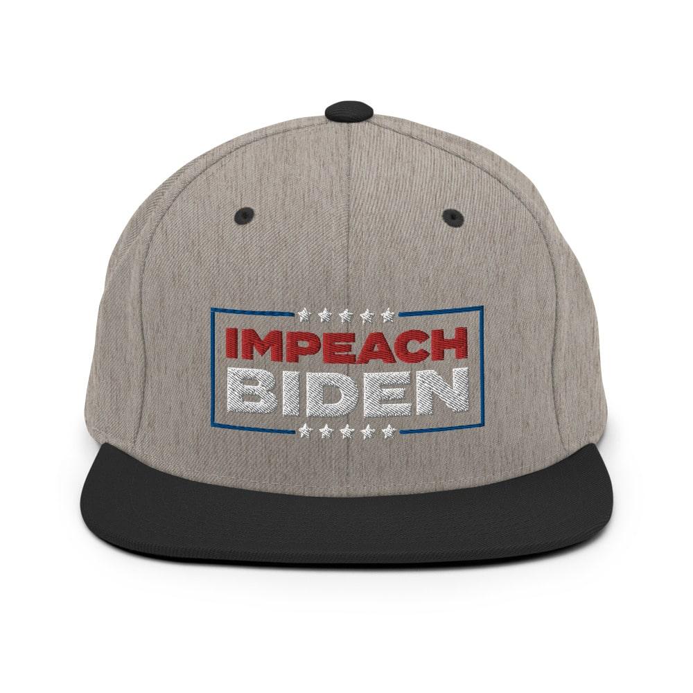 impeach biden snapback hat