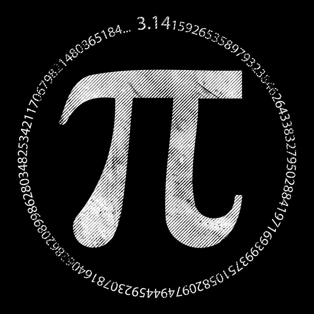 Pi day circle numbers of Pi t-shirt