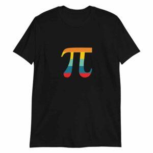 Retro Color Pi Symbol T-Shirt