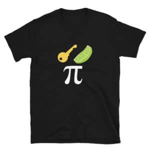 black key lime Pi t-shirt