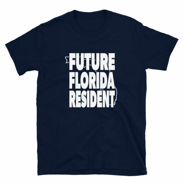 Blue Future Florida Resident T-shirt
