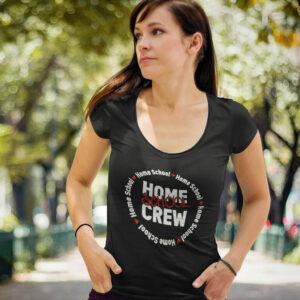 Home School Crew Women's Perfect Scoop Neck Tee