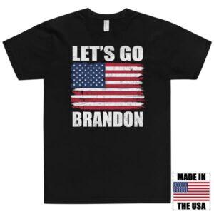 Let's Go Brandon Flag T-shirt